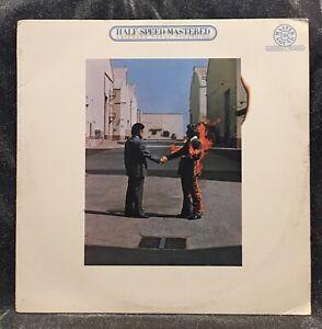 Pink Floyd - Wish You Were Here LP CBS HALF-SPEED MASTERED 1982 VINYL VG+ mfsl