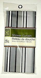 "Magnetic Mildew Resistant Shower Curtain Liner 70"" W x 72"" L"
