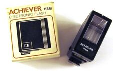Achiever Electronic Flash 118M in Box Vintage Made in Hong Kong
