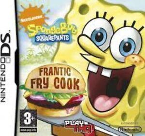 Spongebob Squarepants Frantic Fry Cook - Nintendo DS Game.  No Manual