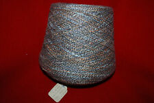 Vintage Astrodyed Flake Cotton Poly Weaving Yarn 70% Cotton 2-1/4 lb. Free Ship