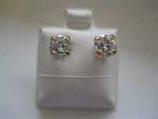 14K Gold Filled .75 Carat TW CZ Post Earrings Item #A106