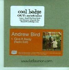 (CX955) Andrew Bird, Give It Away - 2012 DJ CD
