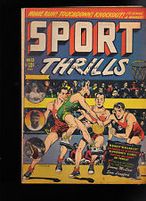 Sport Thrills #13- LB Cole, Jackie Robinson, Roy Campanella, Pee Wee Reese Comic