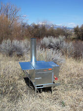 Colt Wood Camp Tent Stove - Riley Stoves - Kit 4A