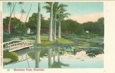 Honolulu, Hi Early View Moanalua Park, Private Mailing Card