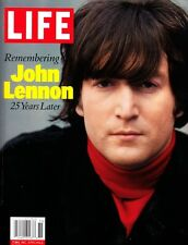 Life Magazine Remembering John Lennon 25 Years Later Softback Book 2005