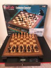 Mephisto Exclusive Senator 32 Bit Modul Wooden Chess Computer System SAITEK