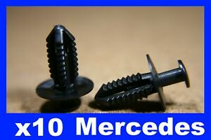 For MERCEDES 10 wheel arch panel lining screw rivet fastener clips