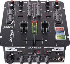 DJ Tech - X10 - USB Professional 2-Channel DJ Mixer