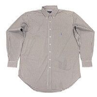 Ralph Lauren Men's Classic Fit Performance Check Shirt In Brown/White Size 4XB