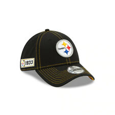 Pittsburgh Steelers New Era NFL Sideline Road 39THIRTY Flex Hat - Black/Gold
