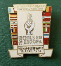 DDR Abzeichen - Internationaler Befreiungstag - Weimar Buchenwald 1954
