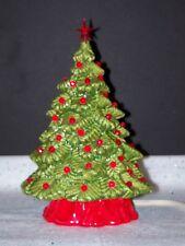 CERAMIC ELECTRIC LIGHT UP VINTAGE CHRISTMAS TREE STAR SANTA HOLIDAY ORNAMENT NEW