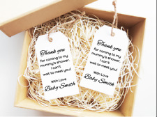 Baby Shower Tags Baby Shower Favour Tags Baby Shower Thank You Gift Tags 15x