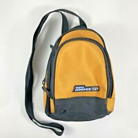 Genuine Nintendo Game Boy Advance SP Yellow Black Carrying Case Travel Bag OEM