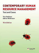 Contemporary Human Resource Management: Text and Cases by Tom Redman, Adrian Wi…