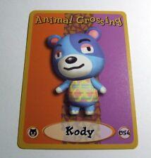 ANIMAL CROSSING E-READER Character CARD 054 Kody~Series 1~FINE~Trading~Nintendo