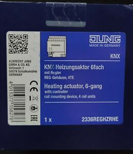 KNX-Heizungsaktor 6-fach REG 4TE Triac 2336 REG HZR HE
