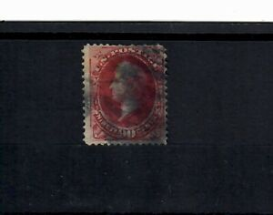 US Scott # 166 USED with THIN TOP OF HEAD;  SCV $300.00