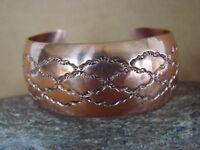 Native American Jewelry Hand Stamped Copper Bracelet by Douglas Etsitty!