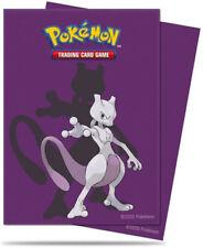 Pokémon 65 pochettes Mewtwo Deck Protector Sleeves protège cartes 15394