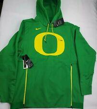 NEW Oregon Ducks Nike Men's Therma Logo Pullover Hoodie Sweatshirt Medium $125