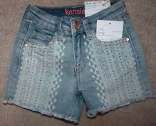 NEW KENSIE Jean Denim Shorts Girls 4 NEW NWT