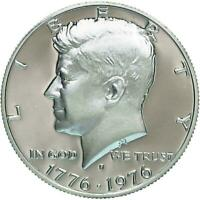 1976-S Silver Gem Proof Kennedy Bicentennial Commemorative Half Dollar / Beauty!