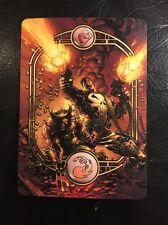 Custom Made Full Art Magic the Gathering Mtg land Mountain Punisher & Wolverine