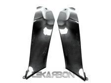 2011 - 2015 Kawasaki ZX10R Carbon Fiber Side Tank Panels - 2x2 twill weaves