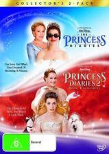 The Princess Diaries / The Princess Diaries 2 (Collector's 2-Pack) * NEW DVD *