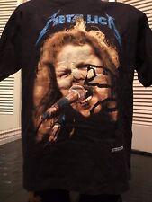 Rare VTG 94 Metallica James Tour Shirt Sz XL Rock Priest Metal Megadeth Slayer
