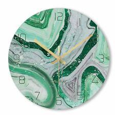 Nordic Decorative Marble Wall Clocks Silent Quartz Modern Design Home Decoration