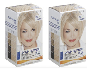 2 Pack Clairol Nice 'N Easy Maxi Born Blonde- Maximum Blonding SEALED