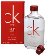 jlim410: Calvin Klein CK One Red Edition Women, 100ml EDT TESTER cod/paypal