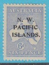 Australia Northwest Pacific Islands 32A Chalky Blue Mint Hinged Og Extra Fine !