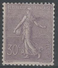 "FRANCE  STAMP TIMBRE N° 133 "" SEMEUSE LIGNEE 30c LILAS 1903 "" NEUF xx TTB  N204"