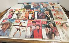 TV Guide Lot of 16 Issues 1982 Vintage