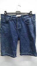 Mens Blue Denim Shorts from Burtons  size 34