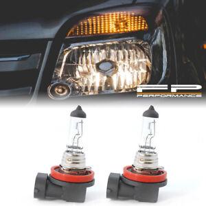 H11 55W Pair 12V Headlight Fog Light Halogen OEM Clear Replacement Bulbs Genuine
