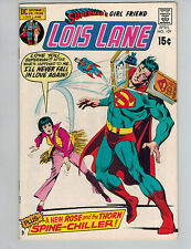 Superman's Girl Friend Lois Lane 109 w/ Rose & The Thorn!  VF/NM 1971!