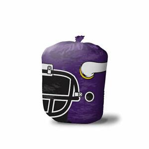 NFL MINNESOTA VIKINGS Stuff-A-Helmet Lawn & Leaf Bag, Large/57 Gallon