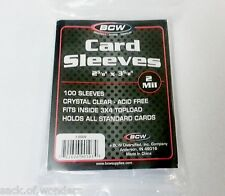 100 - Soft Penny Sleeves - Yugioh, Pokemon, MTG, Baseball, Sports Card Holders