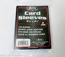 100 - Soft Penny Sleeves - Yugioh, Pokemon, MTG, Baseball, Sports Card Holders