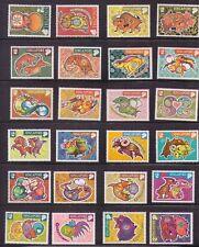 Singapore complete zodiac ,12 sets 1996-2007