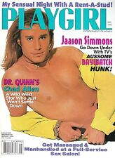 PLAYGIRL Magazine September 1995  Jaason Simmons Dr. Quinn Chad Allen Gay Salon