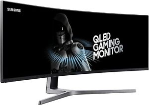 Samsung 49-Inch 144Hz Curved Monitor Certified Refurbished