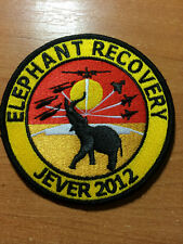 PATCH GERMANY MILITARY ARMY - AIR FORCE Elephant Recovery - ORIGINAL!