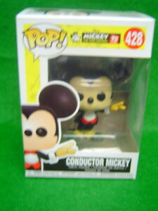 Funko POP Disney Series Conductor Mickey Mouse  Store New 2018 No. 428